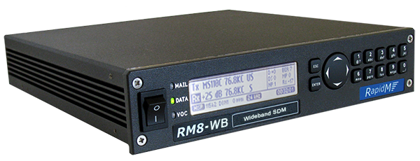 RM8-WB Wideband Software Defined Modem