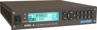 RM6-A Radio Data Modem and ALE Controller - right facing