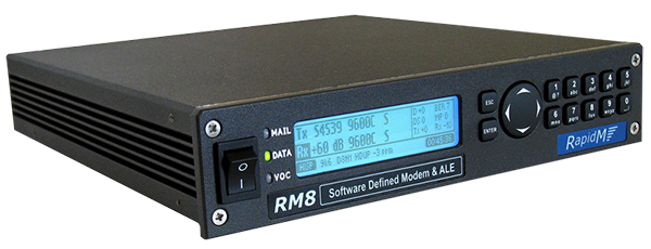 RM8 Software defined Modem Modem & ALE Controller