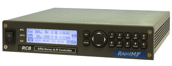 RC8 ARQ Server & IP Controller