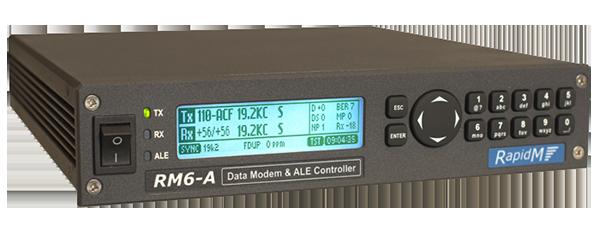 RM6-A Data Modem & ALE Controller