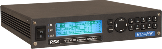 RS8 HF & V/UHF Channel Simulator – 3, 6 kHz
