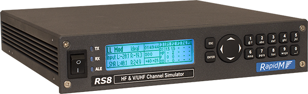 RS8 Wideband HF & V/UHF Channel Simulator