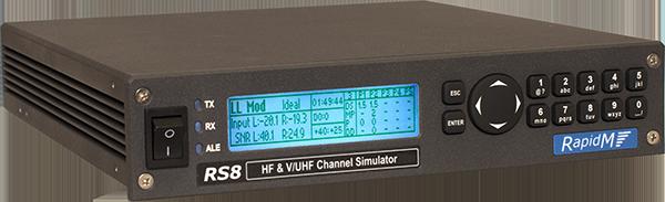 RS8 HF & V/UHF Channel Simulator