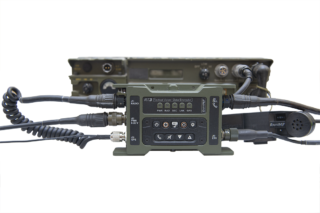 RT3 Vehicle Tactical Voice / Data Encryptor | Radio and handset