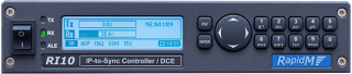DCE / IP-TO-SYNC CONTROLLER - front view