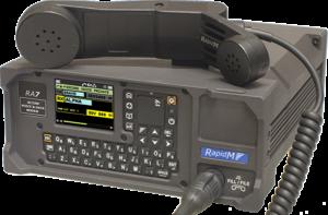 RA7 Secure Voice & Data Modem for HF or V/UHF Radio