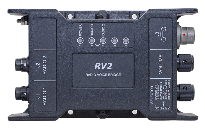 RapidM RV2 Radio Voice Bridge - Interface with 2 radios