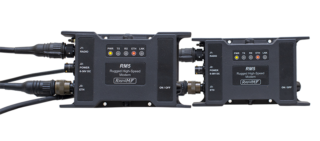 RM5 MIL-STD-188-110A/B HF data modem | Front Cables